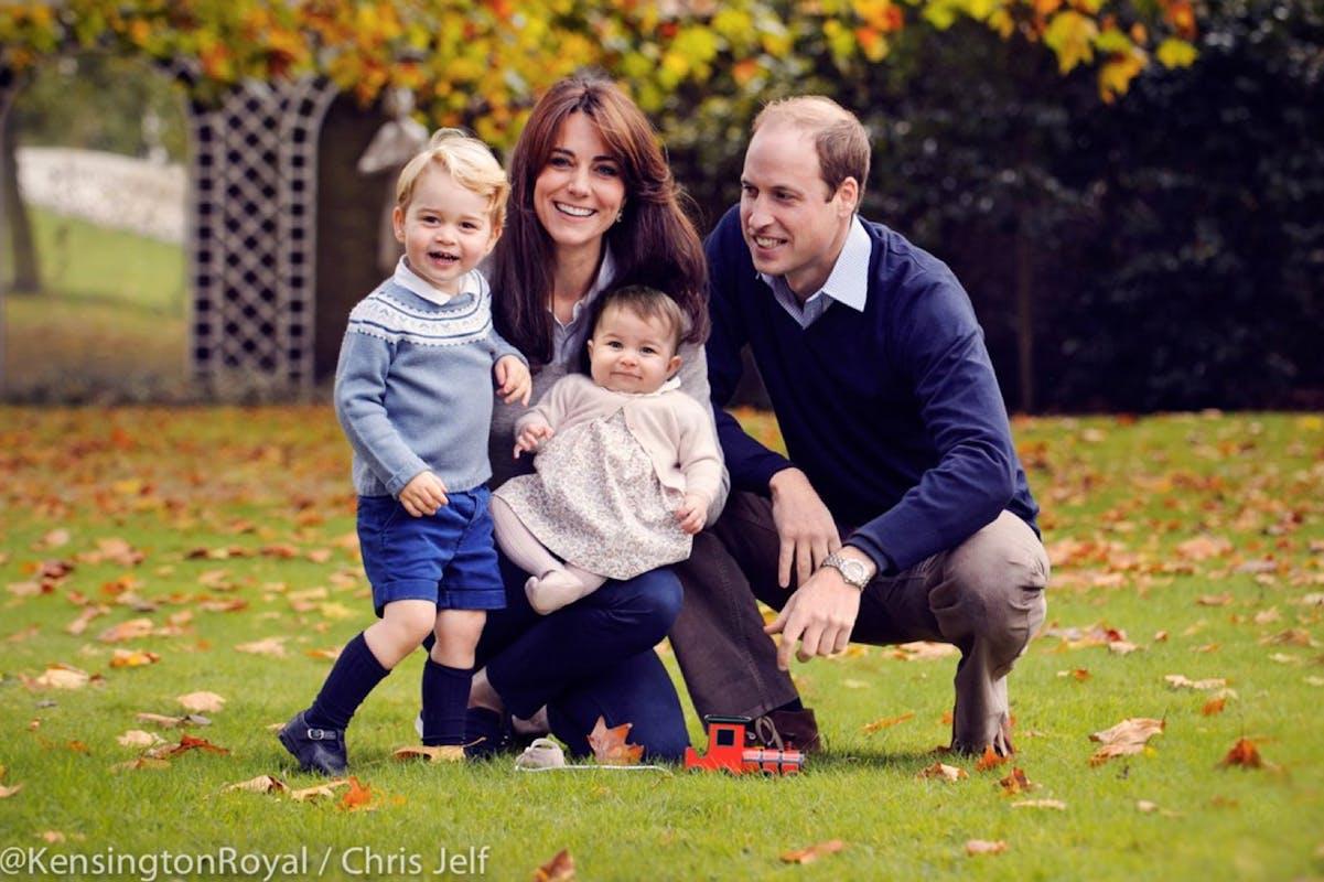 La famille royale vous souhaite Joyeux Noël