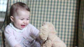 La princesse Charlotte à 6 mois