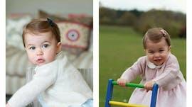 Princesse Charlotte a 1 an