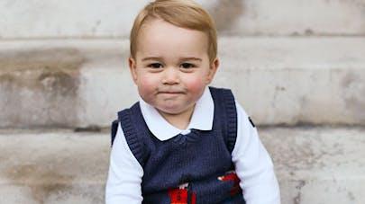 La première rentrée du prince George à l'école  (photos)