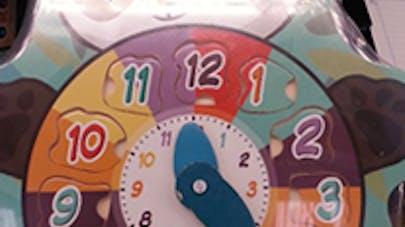 Rappel de produits: une horloge-puzzle en bois   rappelée pour risque d'ingestion