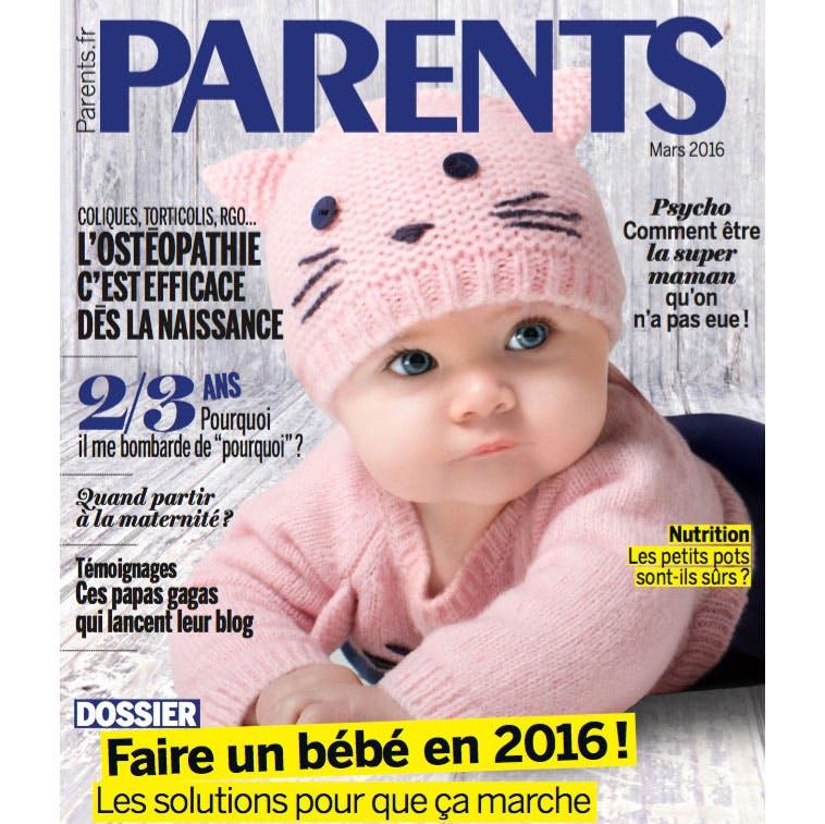 Le nouveau magazine Parents est en kiosques !
