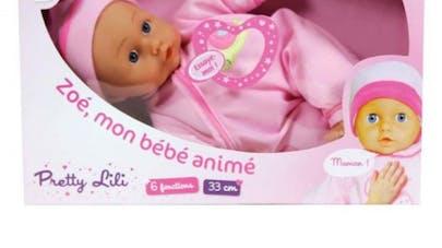 Rappel de produit: un poupon de la marque Pretty   Lili rappelé pour défaut de fabrication