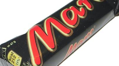Mars rappelle 7 lots de barres chocolatées par   précaution