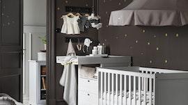 chambre hensvik chambre bb sundvik lit bb et table langer sundvik - Chambre Bebe Ikea
