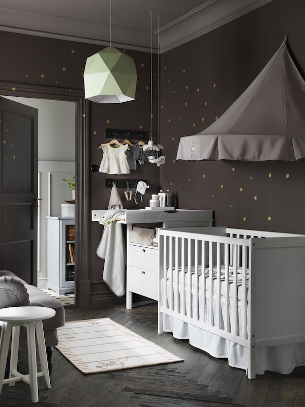 ikea chambre bebe sundvik avec des id es int ressantes pour la conception de la. Black Bedroom Furniture Sets. Home Design Ideas