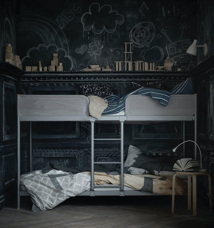 Ikea nouveaut s printemps t 2016 en chambres enfants - Ikea lit superpose metal ...
