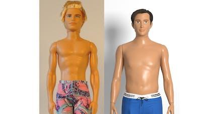 Enfin un Ken aux mensurations réalistes!