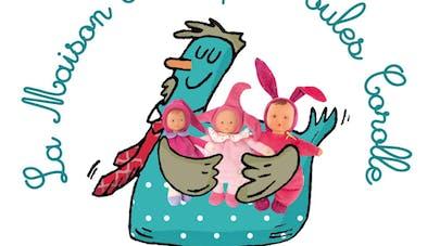La Maison des Papas Poules Corolle accueille les parents  les 27, 28, 29 mai à Paris
