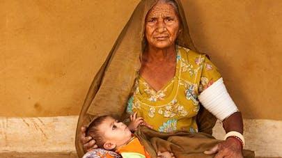 Inde: à 70 ans, elle donne naissance à son premier   enfant