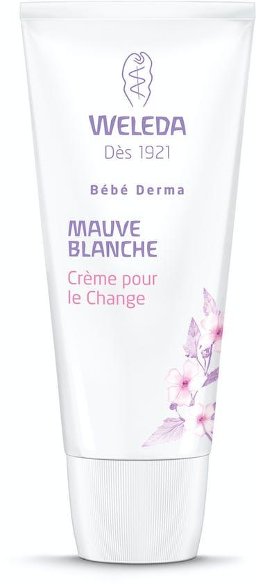 Pour le change : Crème pour le Change Mauve Blanche         Bio Bébé Derma, Weleda