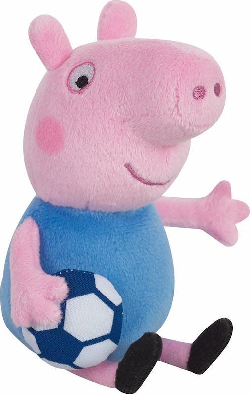 Peluche Peppa Pig George spécial Euro 2016