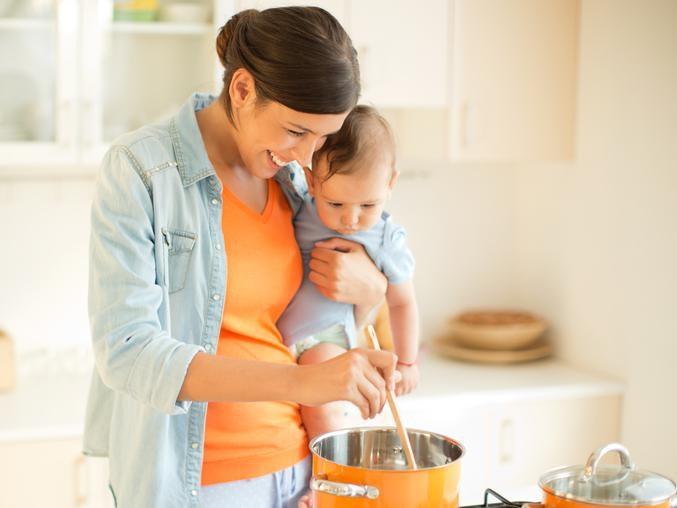 Une cuisine saine pour bébé: mode d'emploi