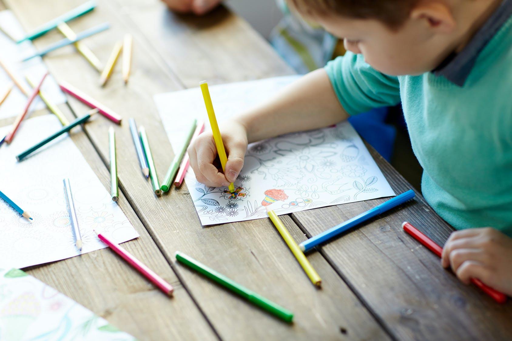Coloriages : 10 produits qui plaisent aux enfants   !