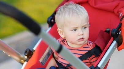 Poussette : deux enfants blessés par heure, selon une   étude