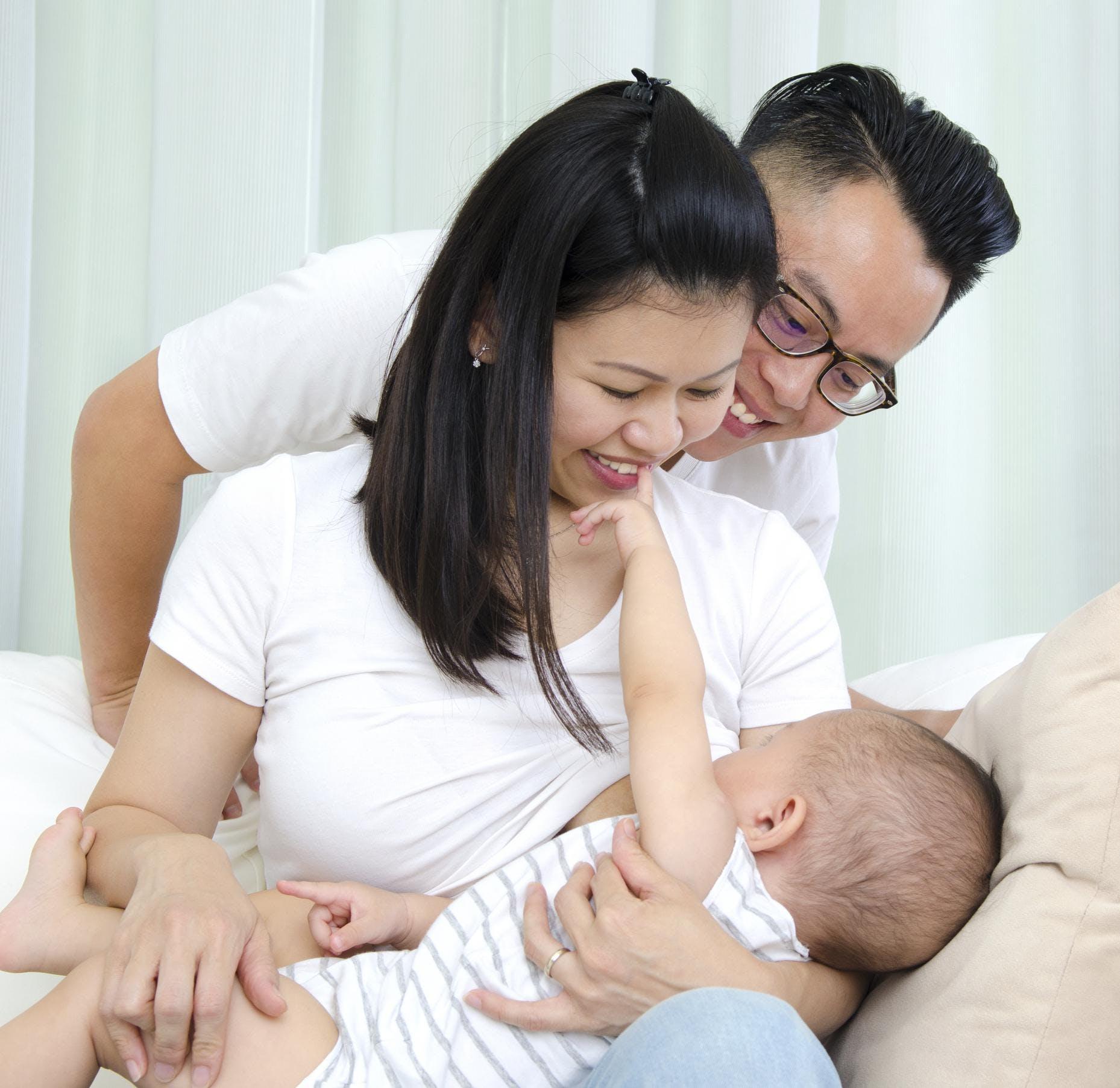 Asthme : un risque génétique réduit par   l'allaitement
