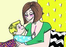 Après une greffe du cœur, Mélanie est devenue maman. Témoignage.