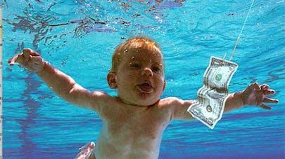 Nevermind: le bébé de la pochette du CD de Nirvana a   bien grandi!
