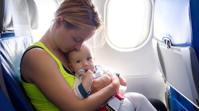 Les moins de 2 ans: premières victimes d'accidents   en avion