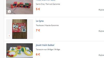 Un enfant à vendre sur Leboncoin.fr