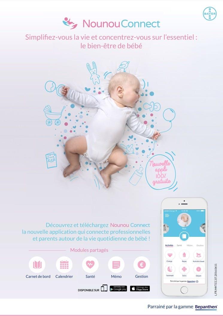 Nounou Connect: l'appli qui facilite les échanges   parents-assistante maternelle