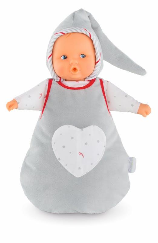 0-1 an: Mon doudou Babibulette Petite étoile,         Corolle, 30 €. Dès la naissance.