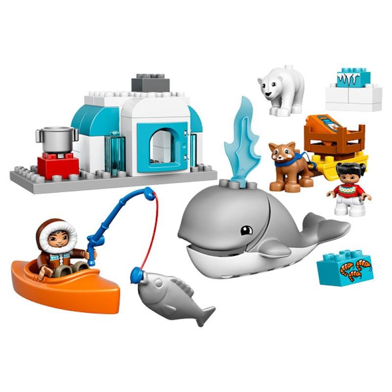1-2 ans: Les animaux de l'Arctique Lego, 30 €.         Dès 18 mois.