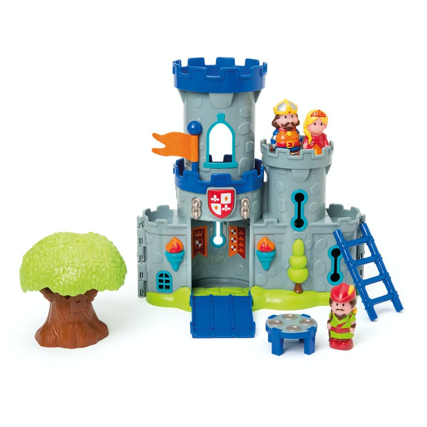 2-3 ans: Château fort Robin des bois Happyland,         Oxybul Eveil & Jeux, 39,99 €. Dès 2 ans.