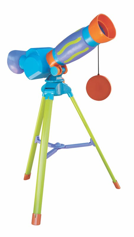 3-5 ans:Télescope des petits, Oxybul Eveil &         Jeux, 34,99 €. Dès 3 ans.
