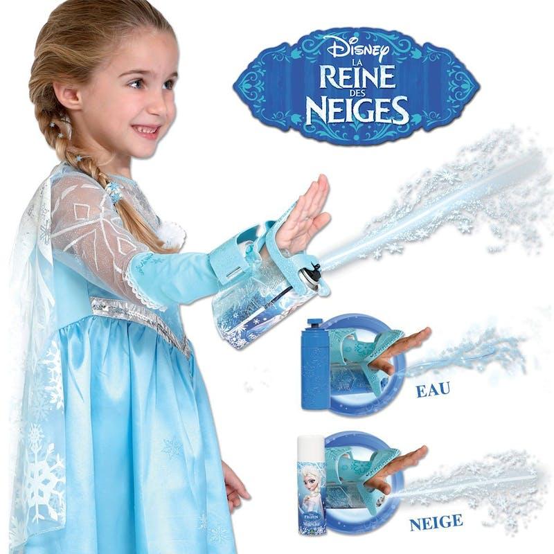 5 +: Gant magique Elsa, Giochi Preziosi, 33,99         €. Dès 5 ans. Disponible à La Grande Récré.