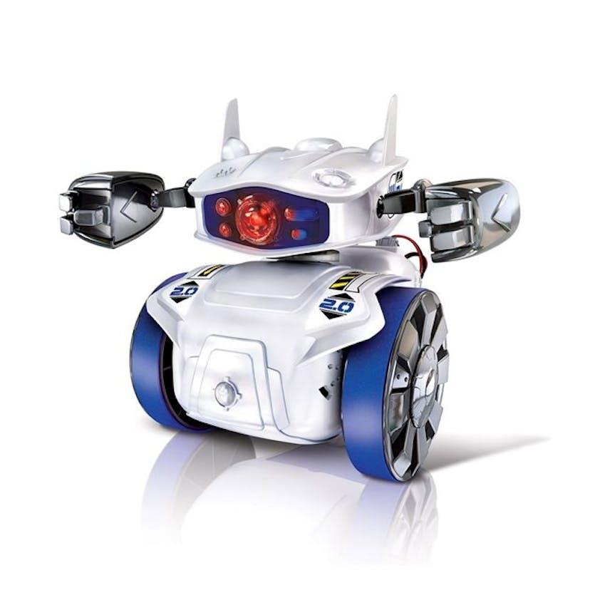 Cyber Robot Clementoni, 34,90 €. Dès 8 ans. Disponible         chez Toys'R'Us.