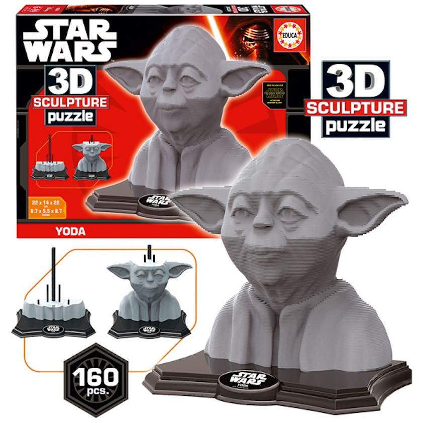 La sculpture 3D Puzzle licence Star Wars. 24,99 €. Dès         6 ans.
