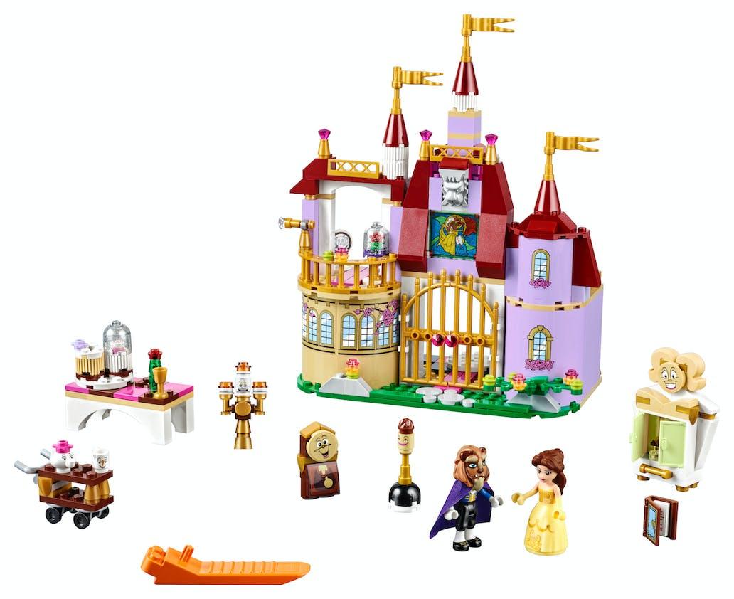 Le château de la Belle et la Bête, Disney Princess         Lego, 50 €. Dès 6 ans.