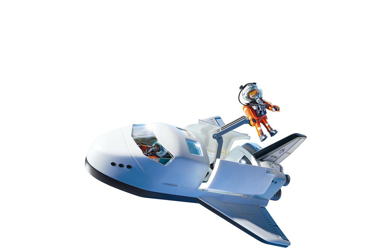 Navette spatiale avec astronautes, Playmobil, 35,90 €.         Dès 6 ans.