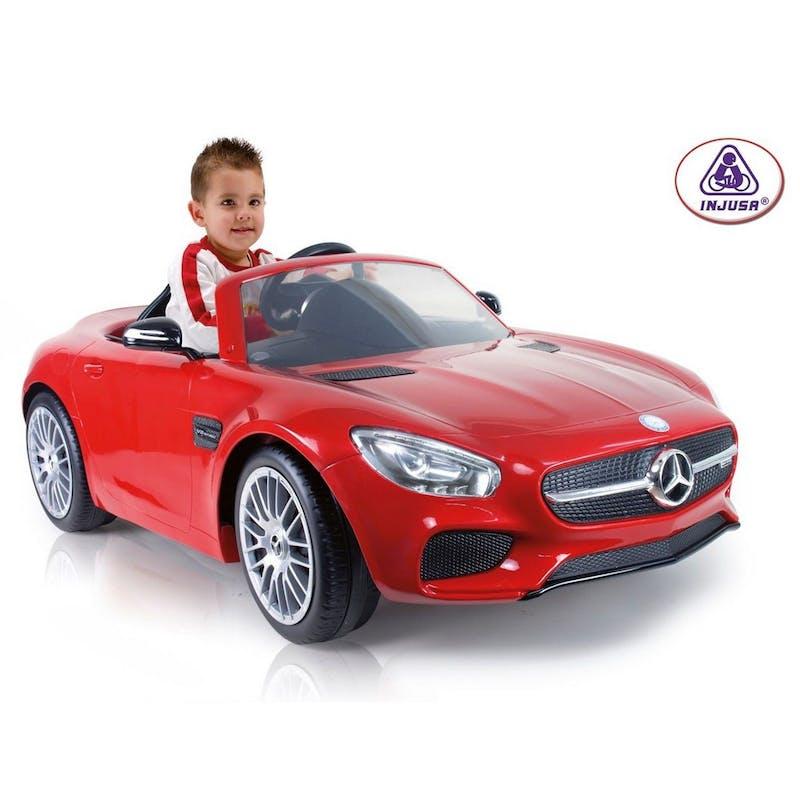 Voiture électrique Mercedes AMG GT, Injusa, 249,99 €.         Dès 3 ans.