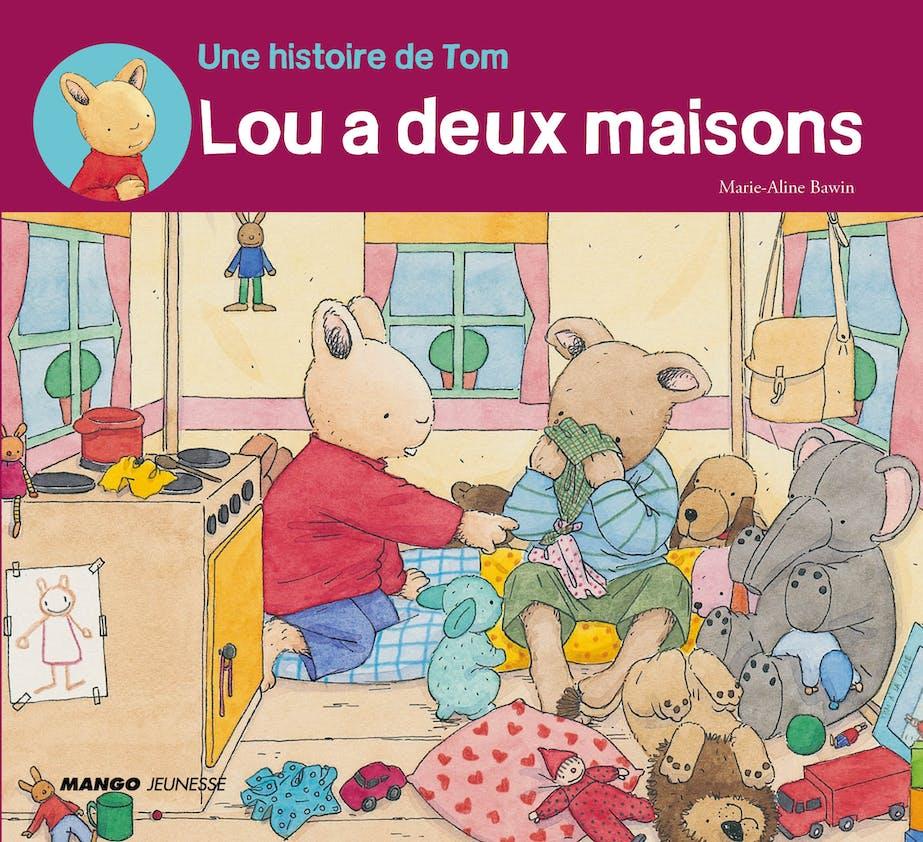 Dès 3 ans : Lou a deux maisons