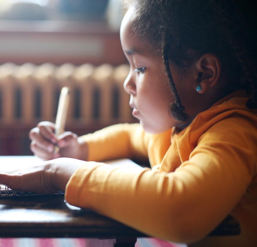 Les enfants ont peur de ne pas réussir à l'école
