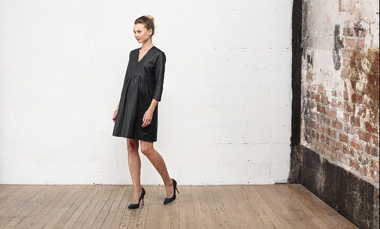Ou une robe irisée plus cintrée