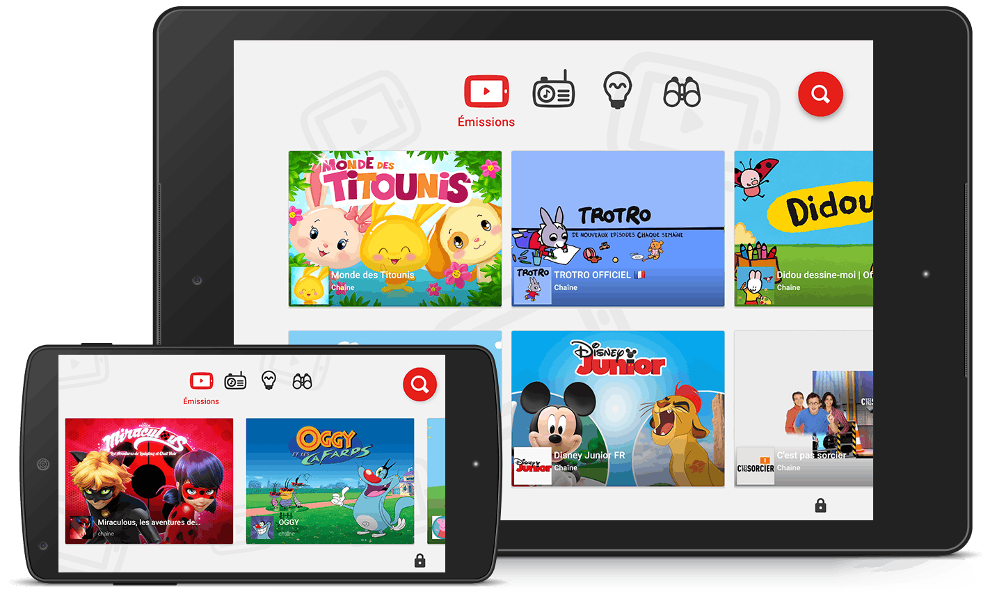 YouTube Kids : la nouvelle application vidéo des enfants