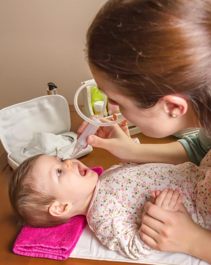 Nez qui coule: trois nouveautés pour soigner   bébé