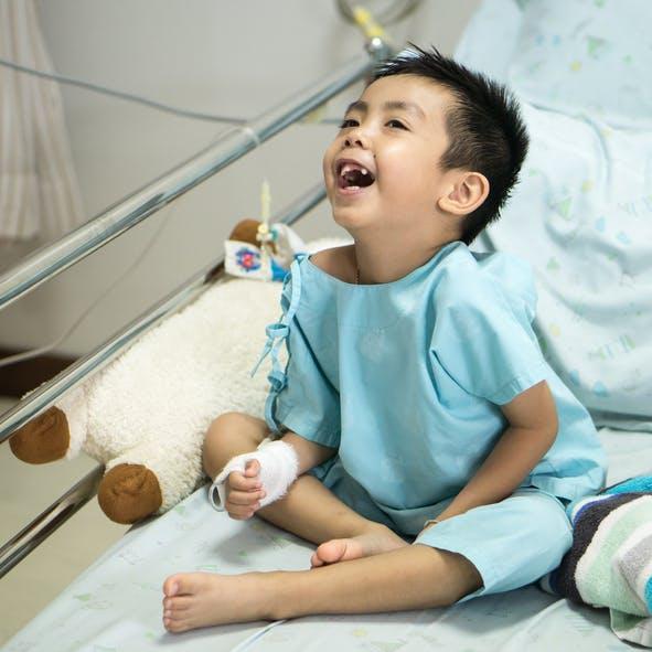 Un robot chirurgical pédiatrique unique en France à   l'hôpital Necker-Enfants malades
