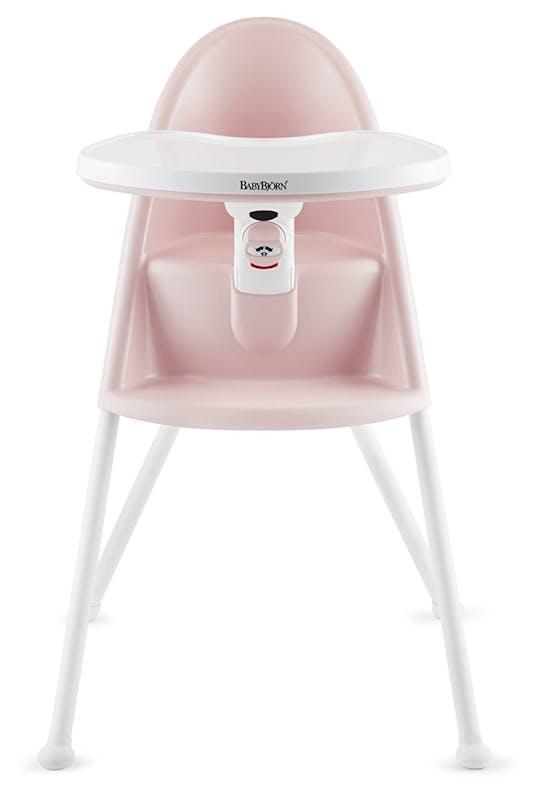 Chaise haute BabyBjörn rose