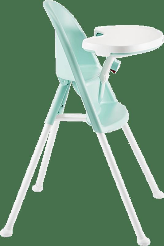 Chaise haute BabyBjörn vert