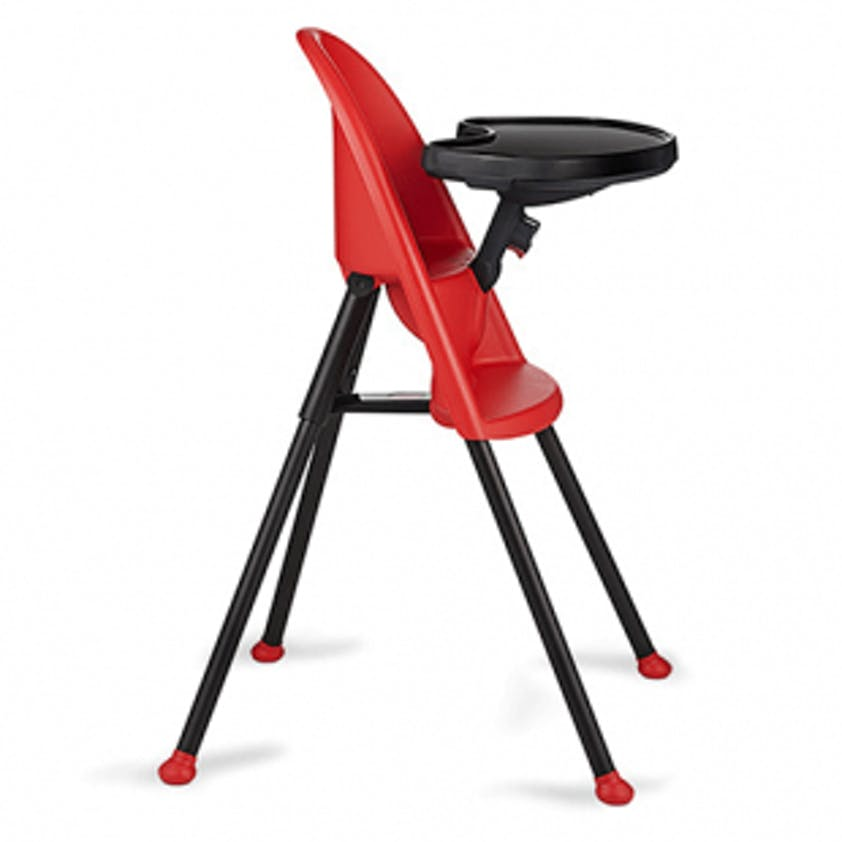 Chaise haute BabyBjörn rouge