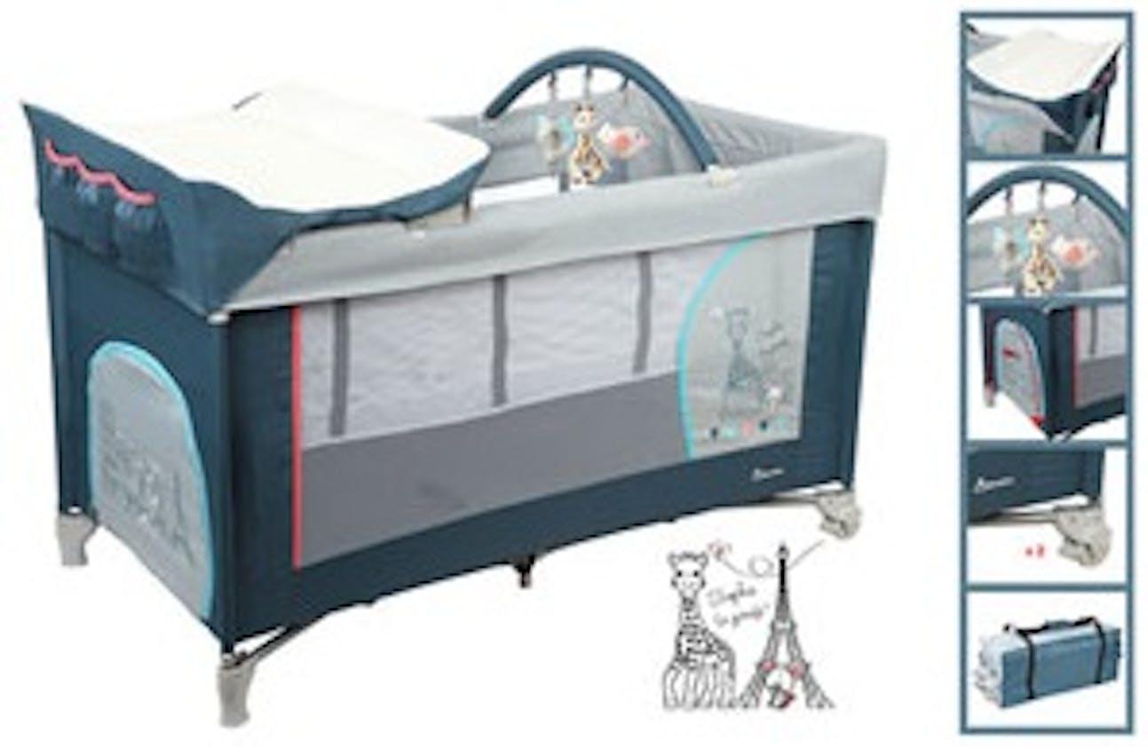 lit parapluie sophie la girafe de renolux. Black Bedroom Furniture Sets. Home Design Ideas