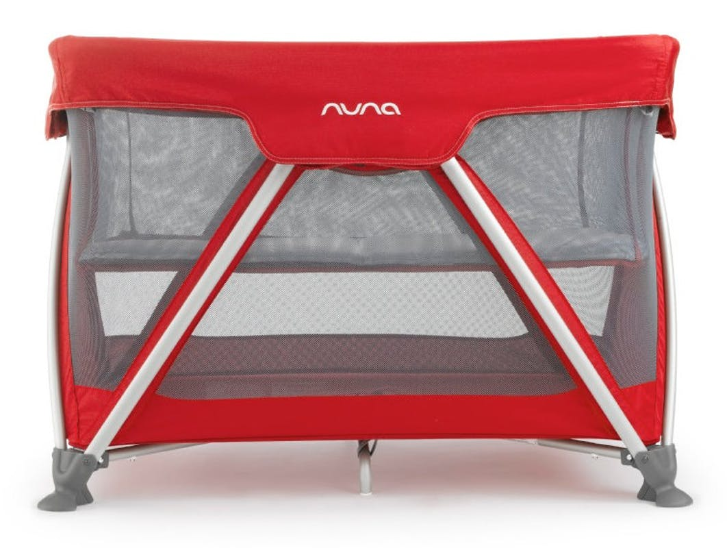 Lit parapluie Sena de Nuna rouge