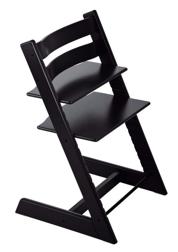 Chaise haute Tripp Trapp de Stokke - noir