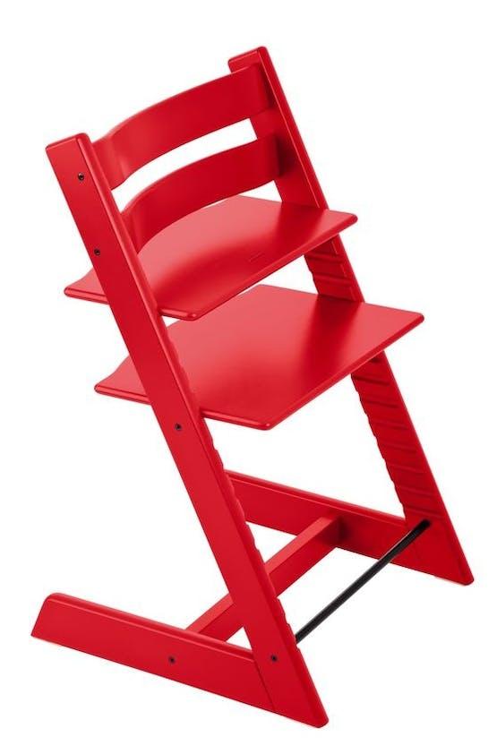 Chaise haute Tripp Trapp de Stokke - rouge