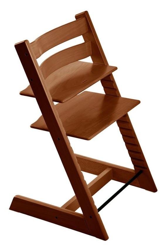Chaise haute Tripp Trapp de Stokke - noisette
