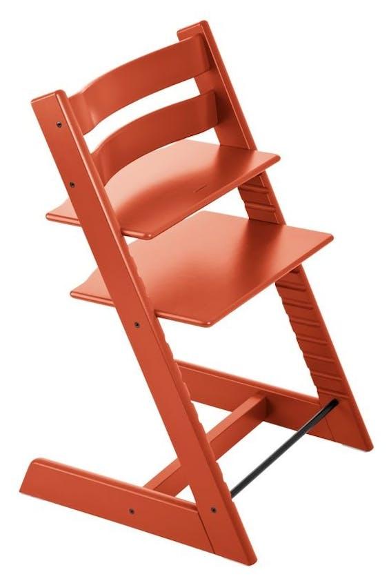 Chaise haute Tripp Trapp de Stokke - orange lava